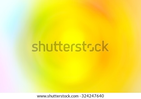 Abstract radial blur multicolor bokeh background  - stock photo