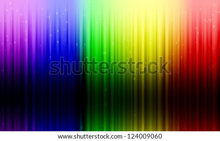 Abstract rainbow background with shadow. - stock photo