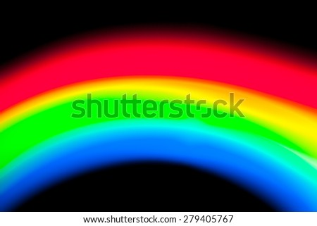 abstract rainbow color on black background