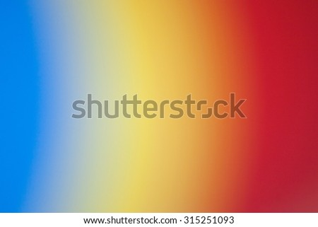 Abstract rainbow colors background with blurred stripes