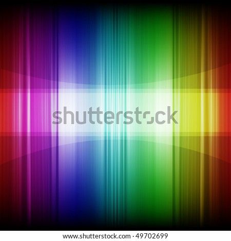 Abstract rainbow colors background (with space for text) - stock photo