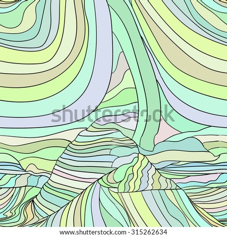 Abstract Raster wave background template image 2 - stock photo
