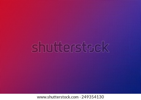abstract red and blue led screen texture background - stock photo