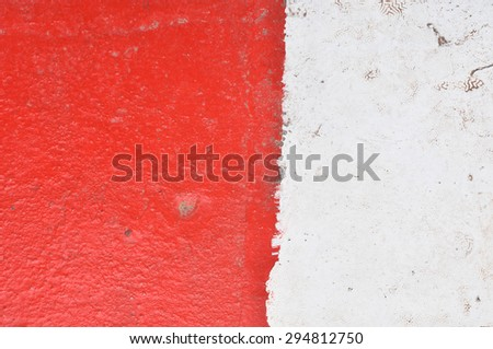 abstract red and white background - stock photo