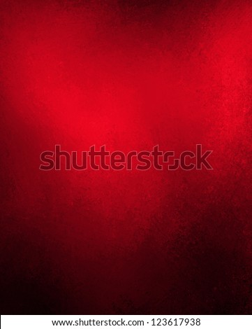 abstract red background black border edges with bright top spotlight, vintage grunge background texture layout, distressed gradient background, luxury red paper or wall paint for valentines day card - stock photo