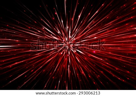 abstract red background. explosion star.