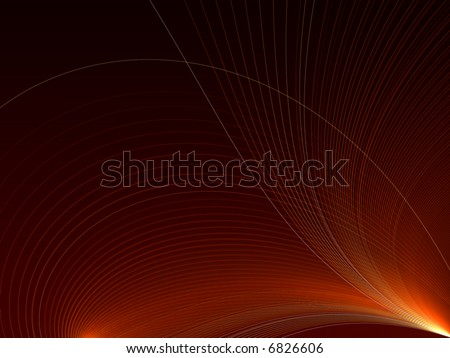 abstract red background with feathery lines