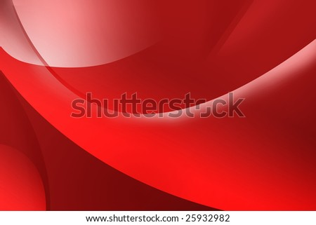 Abstract red background with lines - stock photo