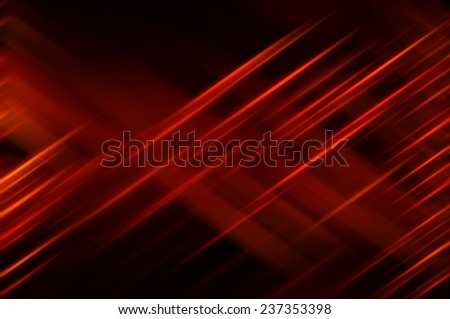 Abstract red background with various color lines - stock photo