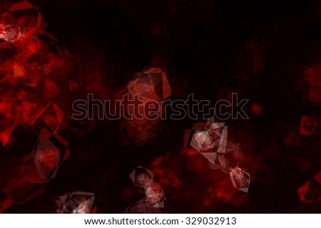 Abstract red creative background