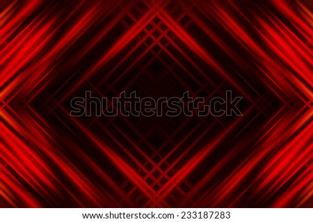 Abstract red fractal background with various