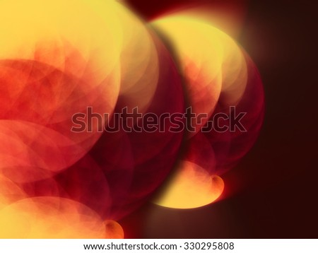 Abstract red futuristic background fractal art creative design  - stock photo