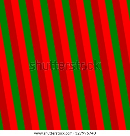 Abstract Red Green Striped Wallpaper