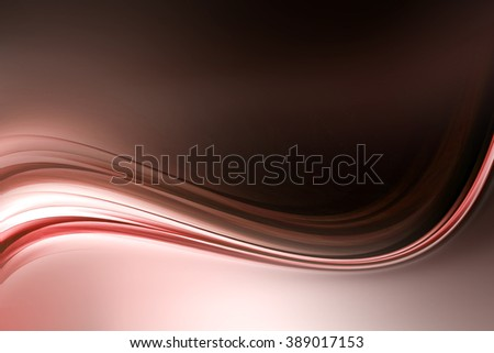 Abstract Red Light Wave Design Background