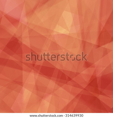 abstract red orange and gold background with lines and stripes in random pattern, triangle shapes and diagonal stripes, warm autumn colors for Thanksgiving or fall graphic art designs - stock photo