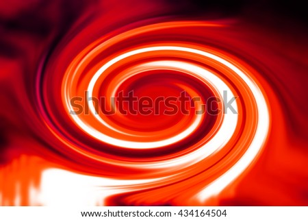 Abstract red spiral background illustration - stock photo