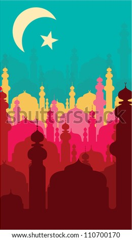 abstract religious background - stock photo