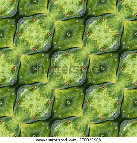 Abstract Reptilian Skin Seamless Pattern Texture - stock photo