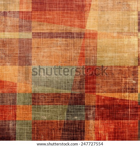 Abstract retro background or old-fashioned texture. With different color patterns: red (orange); yellow (beige); brown; gray - stock photo