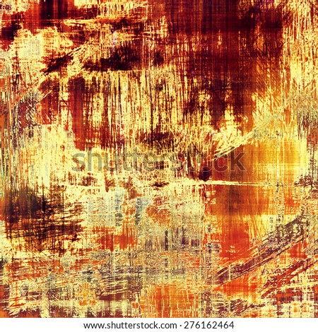 Abstract retro background or old-fashioned texture. With different color patterns: yellow (beige); brown; gray; red (orange) - stock photo