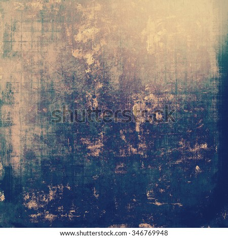 Abstract retro background or old-fashioned texture. With different color patterns: yellow (beige); gray; blue; purple (violet) - stock photo