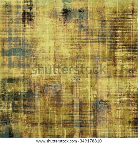 Abstract retro background or old-fashioned texture. With different color patterns: yellow (beige); brown; gray; green - stock photo