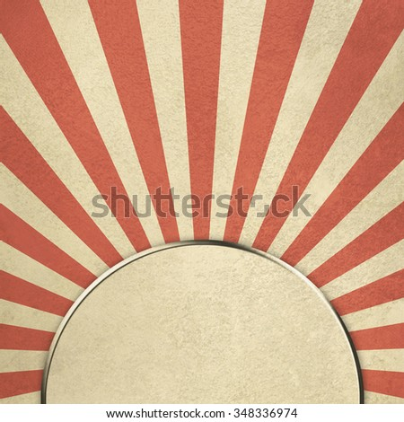 Abstract retro background starburst - stock photo