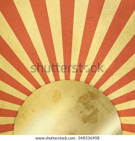 Abstract retro background - vintage starburst - stock photo