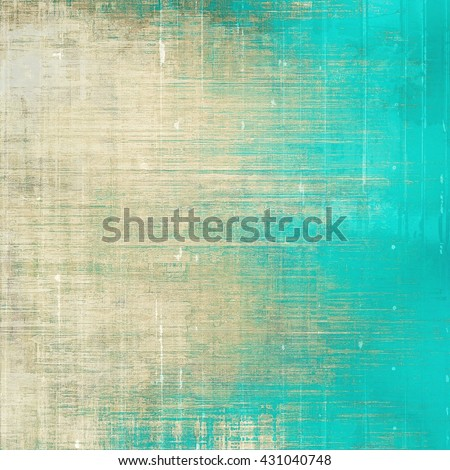 Abstract retro design composition. Stylish grunge background or texture with different color patterns: yellow (beige); brown; blue; gray; cyan - stock photo
