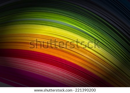 Abstract retro striped colorful background. RGB EPS 10 vector illustration - stock photo