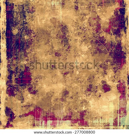 Abstract rough grunge background, colorful texture. With different color patterns: brown; gray; purple (violet); yellow (beige) - stock photo