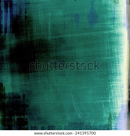 Abstract rough grunge background, colorful texture. With different color patterns: green; cyan; blue; black; gray
