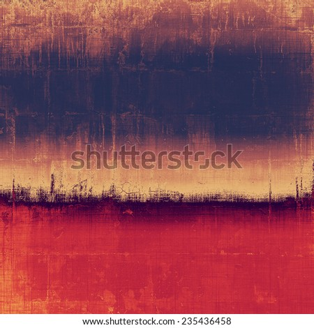 Abstract rough grunge background, colorful texture. With different color patterns: purple (violet); orange; brown; yellow; blue - stock photo