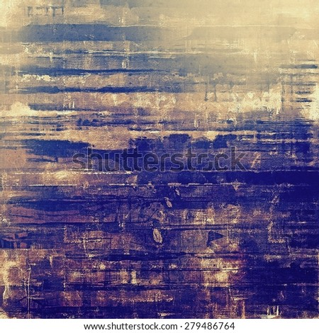Abstract rough grunge background, colorful texture. With different color patterns: yellow (beige); brown; blue; purple (violet) - stock photo