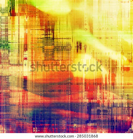Abstract rough grunge background, colorful texture. With different color patterns: yellow (beige); blue; red (orange); pink - stock photo