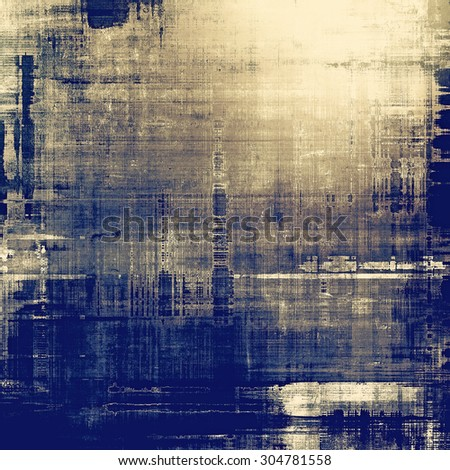 Abstract rough grunge background, colorful texture. With different color patterns: yellow (beige); brown; gray; blue - stock photo