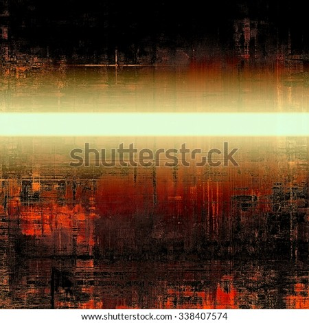 Abstract rough grunge background, colorful texture. With different color patterns: yellow (beige); brown; red (orange); black - stock photo