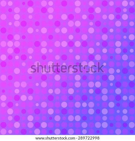 Abstract round mosaic purple Background