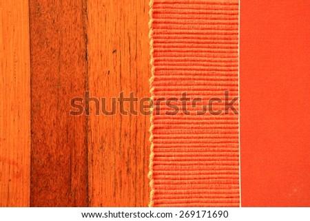 Abstract Rust Color with Timber Background 5 - stock photo