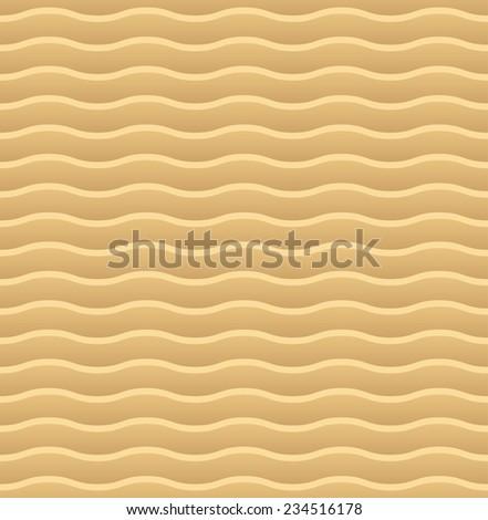 Abstract sandy dunes seamless pattern - stock photo