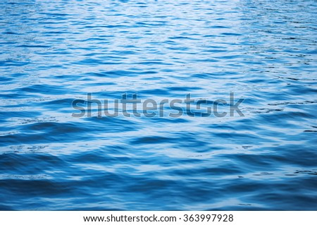 Abstract sea wave close up with light - stock photo