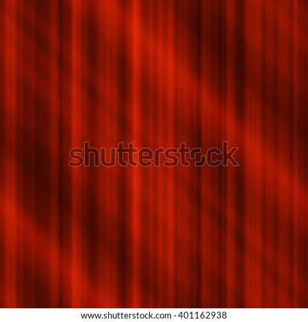 Abstract seamless background, red metallic stripes with beams of light
