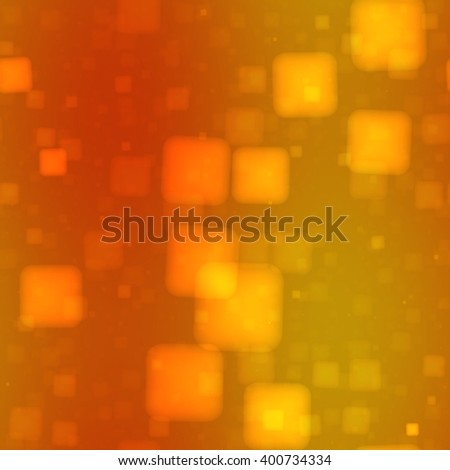 Abstract seamless decorative shining neon bokeh pattern on square tile - stock photo