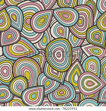 Abstract seamless pattern, endless background