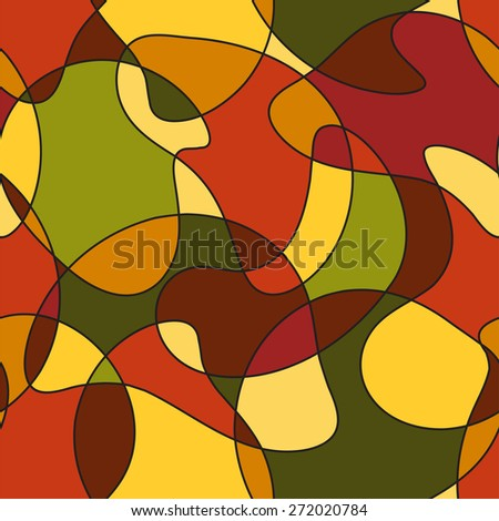 Abstract seamless pattern. Raster version - stock photo