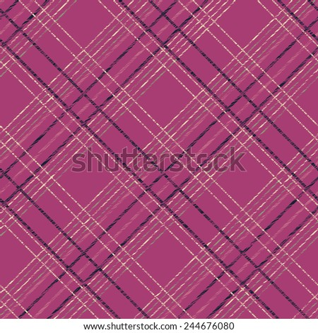 Abstract Seamless Pattern with Plaid Fabric. Simple checkered template. Brush strokes. Pattern fills. Abstract backdrop. Endless illustration. Plain checkered background for decoration or backdrop. - stock photo