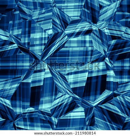 abstract seamless plaid pattern - stock photo