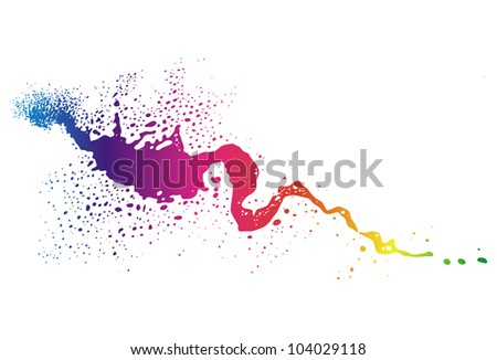 Abstract shape - stock photo