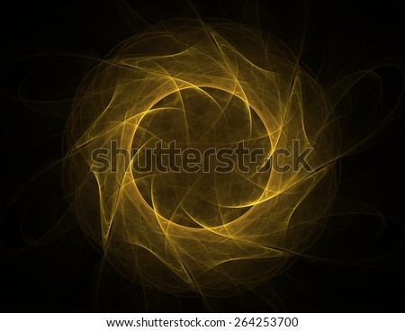 Abstract shape mesh spheres. Futuristic technology style. Elegant background for business presentations. Flying debris - stock photo