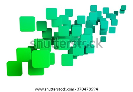 abstract shapes - stock photo